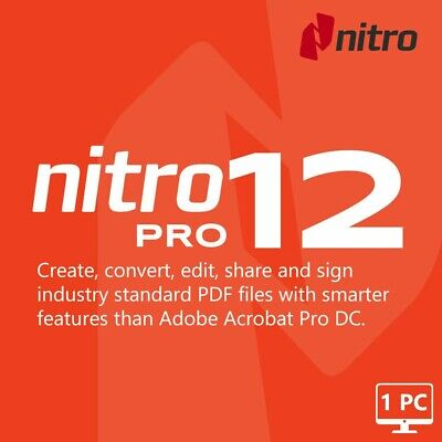 NITRO PRO PDF EDIT Software Instant Delivery FULL ACTIVATED New 2019 EDITOR