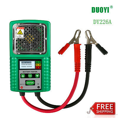 DY226A Car Battery Tester DC 6V/12V 3 in 1 for UPS/Solar Energy/Marine Battery🔥