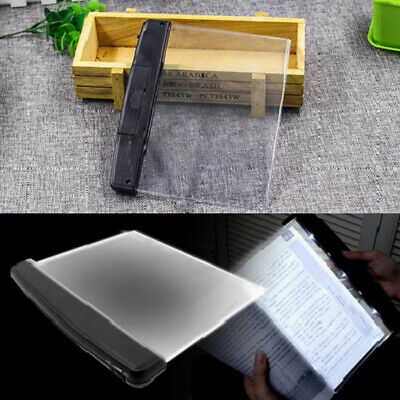 Creative Book Light LED Panel Lamp Night Vision Car Travel Reading Eyes Protect
