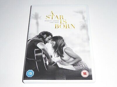 A Star Is Born (2018) - Bradley Cooper, Lady Gaga - GENUINE UK DVD -EXCEL CONDIT