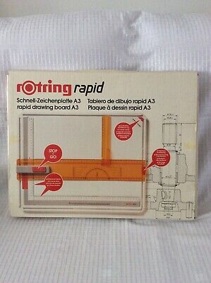 Rotring Rapid A3 Drawing Board ~ Art:522403 ~ Excellent & Boxed