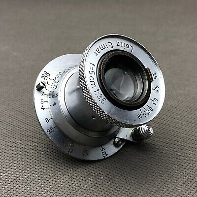LEICA LEITZ ELMAR F = 5cm (50mm) 1:3.5 3,5/50 Tested