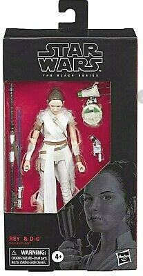 Star Wars The Black Series Rey and D-O 6 in -  ROS