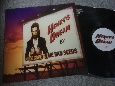 NICK CAVE & THE BAD SEEDS - HENRY'S DREAM. EX UK 1st press with inner.