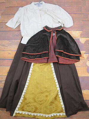 Christmas Markets Victorian Style Outfit - 3 Piece - Theatrical UK 6/8