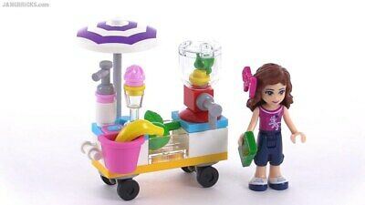 Lego Friends 30202 Smoothie Stand Cart Polybag 2015 Promo Set New Sealed