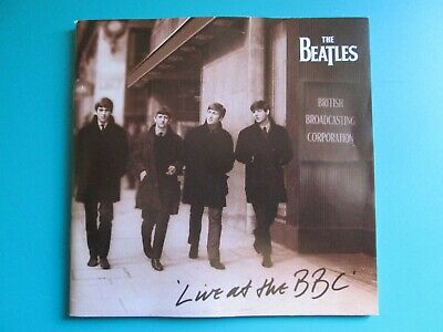 """**Booklet Only-No Case Or Cd's ** For """"The Beatles At The Bbc"""""""