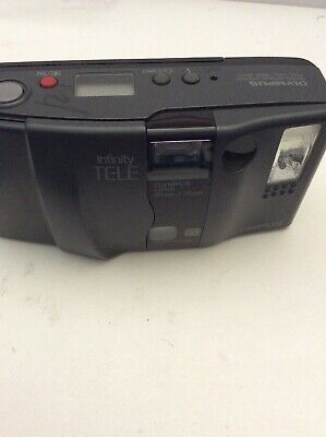Olympus Infinity TELE 35-70mm Auto Focus Film Camera Point and Shoot  JAPAN