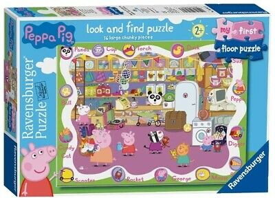 Ravensburger Peppa Pig - My First Floor Puzzle - 16pc Jigsaw Puzzle
