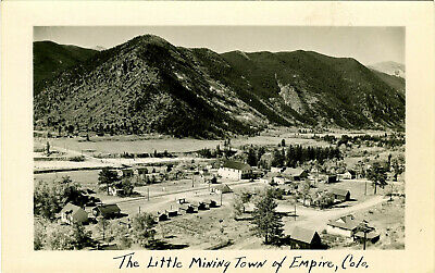 Vintage ca 1900s Mining Town of Empire Colorado Photograph Postcard Unmarked