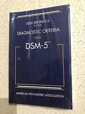 Diagnostic Criteria from DSM-5™ by American Psychiatric Association Staff and...