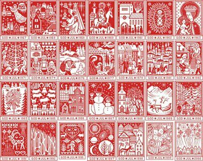Christmas Tapestry in Cross Stitch cross stitch chart