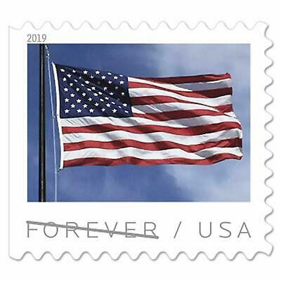 USPS Forever US Flag Postage Stamps - 3000 Stamps total - Booklets and Rolls