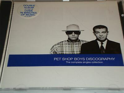 Pet Shop Boys - Discography The Complete Singles Collection Greatest Hits