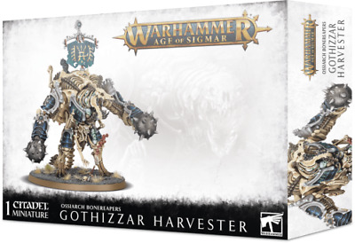 Warhammer Age of Sigmar Ossiarch Bonereapers Gothizzar Harvester NEW