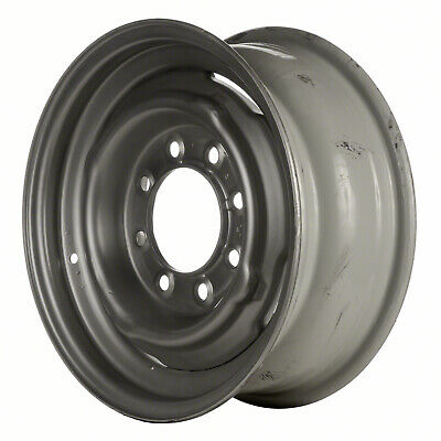 64041 OEM Reconditioned Steel wheel 16x6.5 Silver Sparkle Full Face Painted