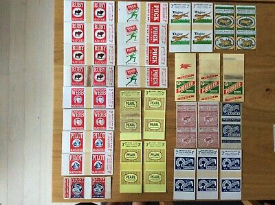 Vintage Matchbox Labels - Bryant & May, Various Designs, Many Cardboard (S)