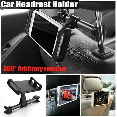 Universal For 4-11in Car Seat Headrest Mount Holder Phone iPhone iPad Tab Tablet