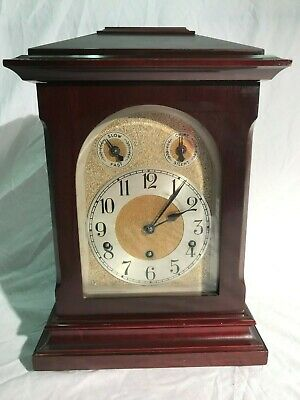 Antique Kienzle 8 Day Westminster Chime, German Bracket Clock. Early 1900s.