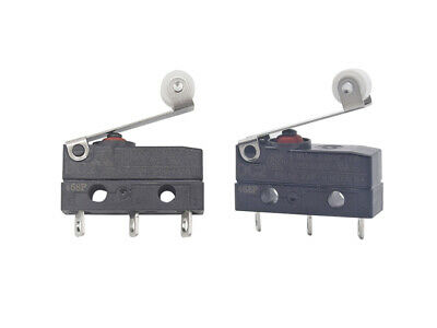 Cherry MicroSwitch Micro Switch SPDT 6A 250V AC Medium Lever Leads IP67