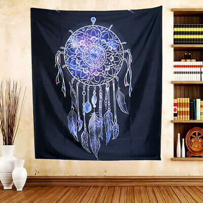 Dorm Deco Authentic Mandala Tapestry Wall Hanging Bohemian Gypsy Bedspread Throw