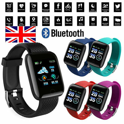 116Plus/Fitpro Smart Watch Bluetooth Heart Rate Blood Pressure Monitor Tracker