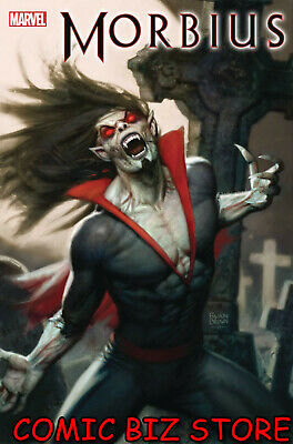 Morbius #1 (2019) 1St Printing Ryan Brown Main Cover Marvel Comics