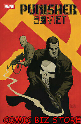 Punisher Soviet #1 (Of 6) (2019) 1St Printing Paolo Rivera Main Cover Marvel