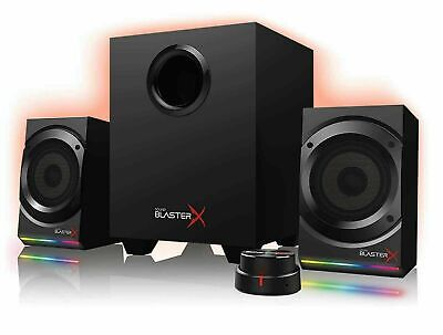 Creative Sound BlasterX Kratos S5 Surround 5.1Pro Channel Speaker System USB 2.1