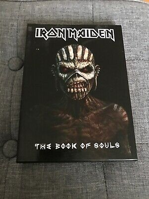 Iron Maiden The Book Of Souls 2 Cd Book Edition Rare