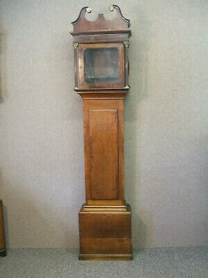 "Oak Long Case ""Clock Case "" Only"