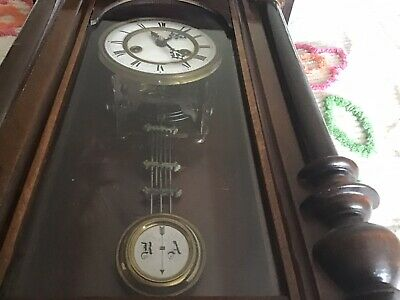 Old Wooded Wall Clock