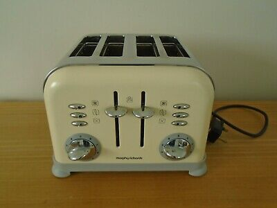 Morphy Richards 222005 ACCENTS 2-Slice Toaster 850 W-Pebble NUOVO