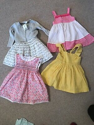 Baby Girl Summer Dress Bundle 6-9 Months Next Mothercare M&S M & Co