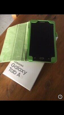 Samsung Galaxy Tab A6 2016, Wi-Fi, 7 inch -black , with Hard Case Excellent Cond