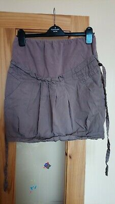 Colline Maternity Skirt Chino Material taupe Size 10