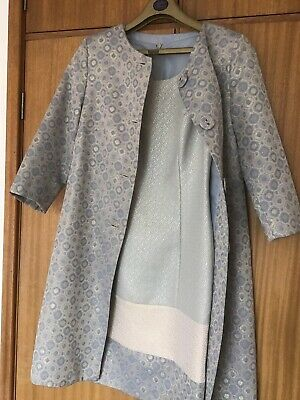 Ladies  Designer Elegant Dress And Coat. 10.Perfect Mother Of The Bride Outfit.
