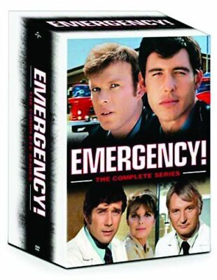 Emergency: The Complete Series (DVD, 2016, 32-Disc Set) + Final Rescues *NEW*