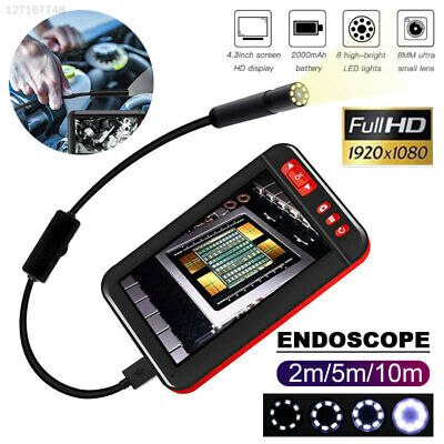 7557 ABS Ear Spoon Borescope Endoscope Microscope Inspection Camera Durable