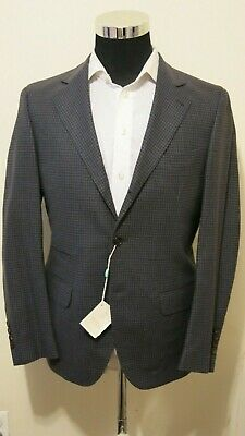 Brunello Cucinelli mens blazer jacket sport-coat NWT! 48-38 wool/cashmere plaid