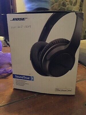 Bose SoundTrue Around-ear II Wired Headphones  -  Charcoal for Android