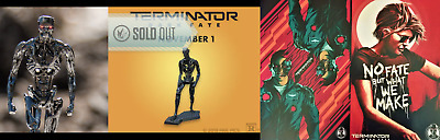 Terminator: Dark Fate IMAX Mini Figure And Mini Posters ! All Sold Out !