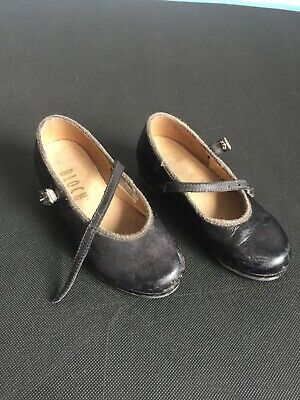 Bloch Tap Shoes Black Child Size 9.5, Pre Loved Condition
