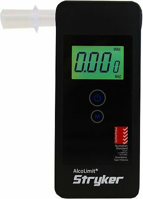 AlcoLimit Stryker Breathalyser - Portable Fuel Cell Sensor Breath Alcohol Tester