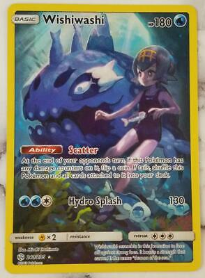 Wishiwashi SECRET RARE (240/236) NEAR MINT - Pokemon TCG Cosmic Eclipse