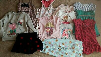 Girls Clothes Bundle Age 4 5 6 years now/ next Christmas Winter H&M peppa jumper