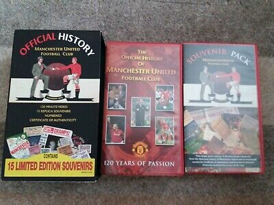 Official History Manchester United FC