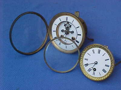 2 x  VICTORIAN CLOCK MOVEMENTS :