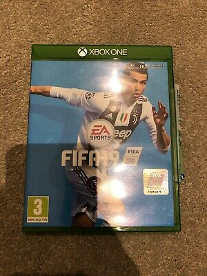 Electronic Arts FIFA 19 Game (Xbox One, 2018) Great condition.