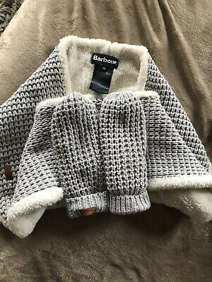 Barbour Snood And Mittens